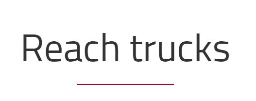 Reach truck text